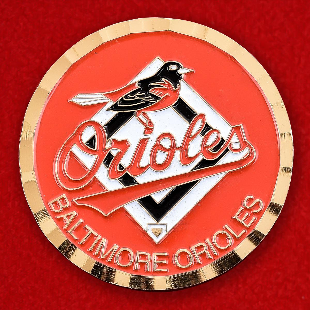 Челлендж коин MLB Baltimore Orioles