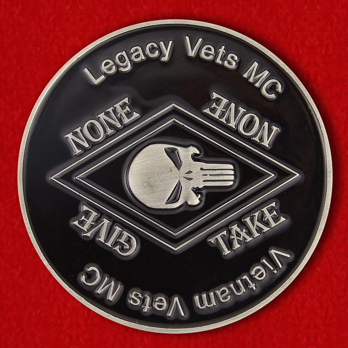 Челлендж коин мотоклуба ветеранов Вьетнама