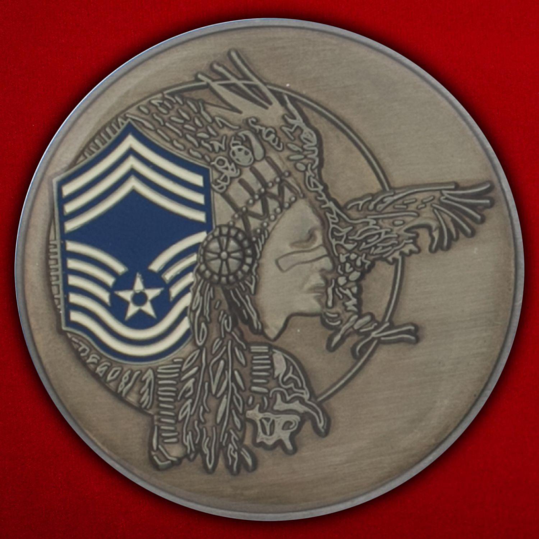 Челлендж коин начальника Управления вооружения ВВС США