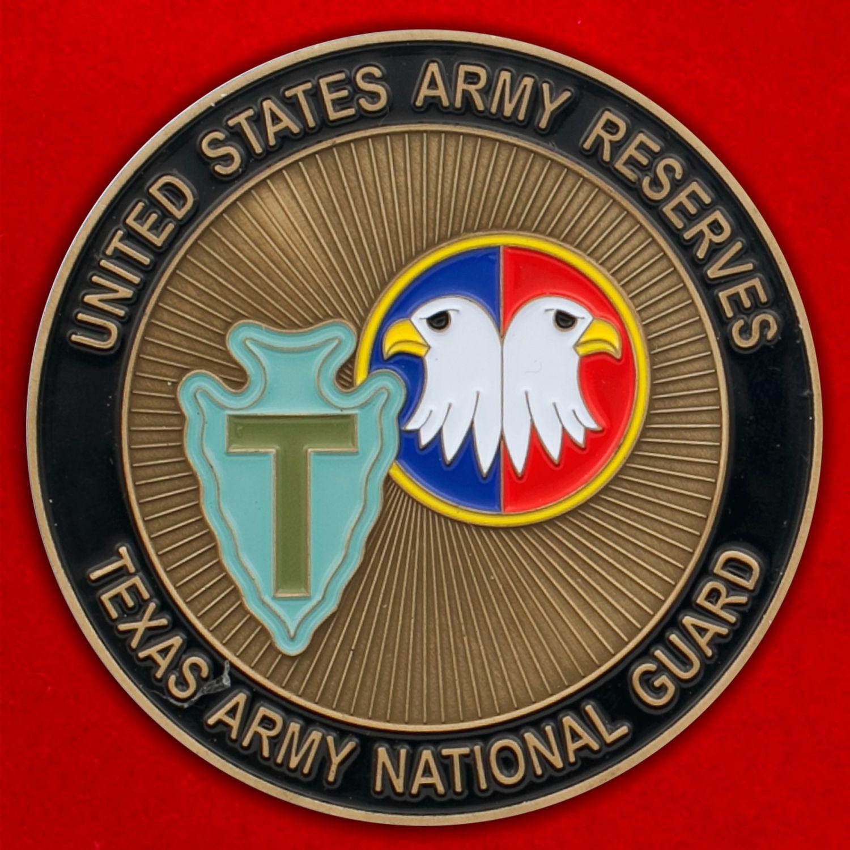 Челлендж коин Национальной гвардии Техаса