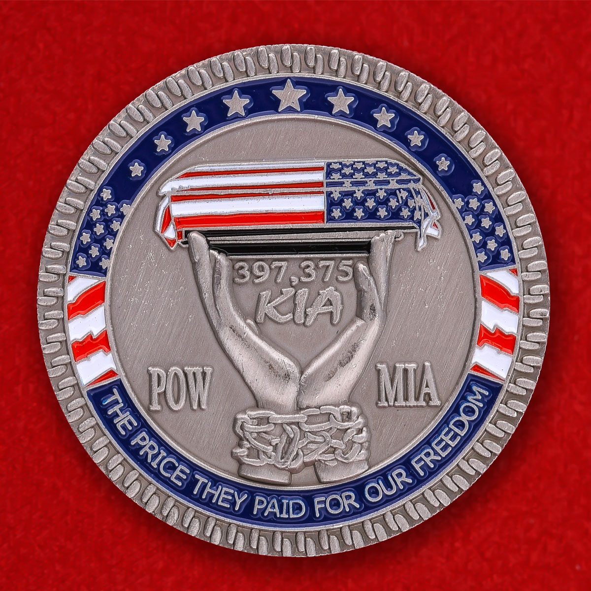 Челлендж коин Национальной лиги семей американских военнопленных и пропавших без вести