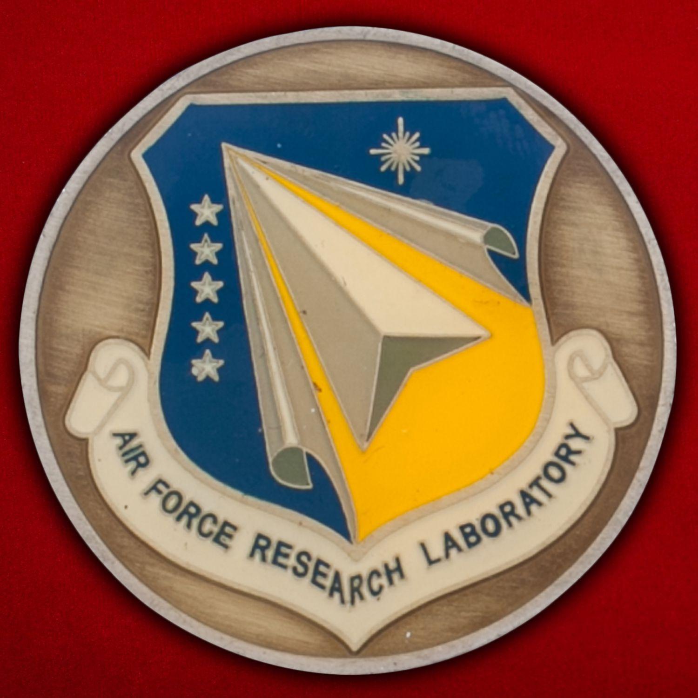 Челлендж коин Научно-исследовательской лаборатории ВВС США
