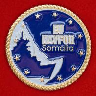 """Челлендж коин немецких военнослужащих """"За участие в операции Аталанта"""" против пиратов в Сомали и Джибути"""
