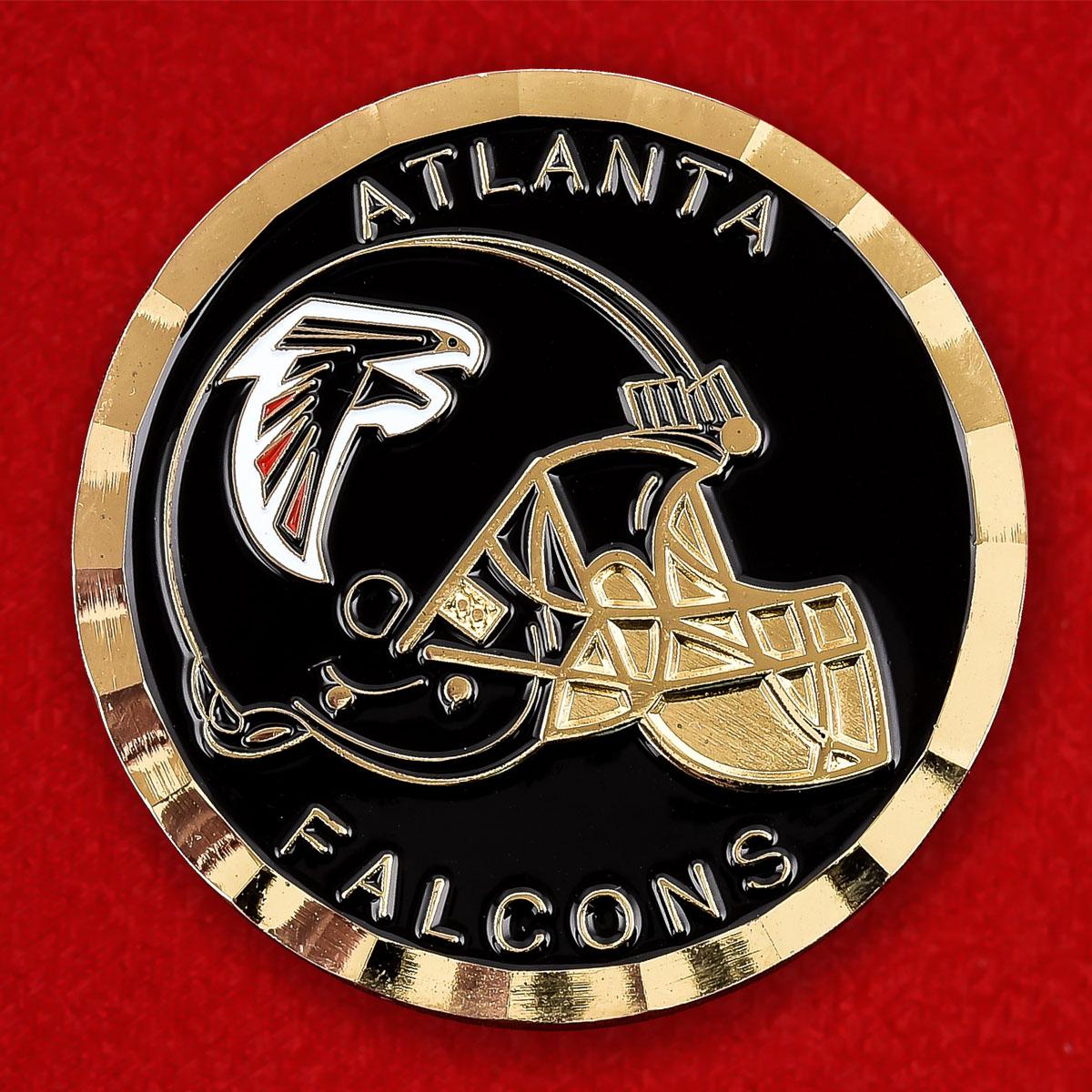 Челлендж коин NFL Atlanta Falcons