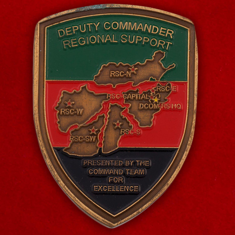 Челлендж коин Объединенного командования НАТО в Афганистане