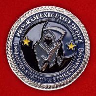 """Челлендж коин """"Офис по планированию и реализации программы развития ударных беспилотников PMA-281"""""""