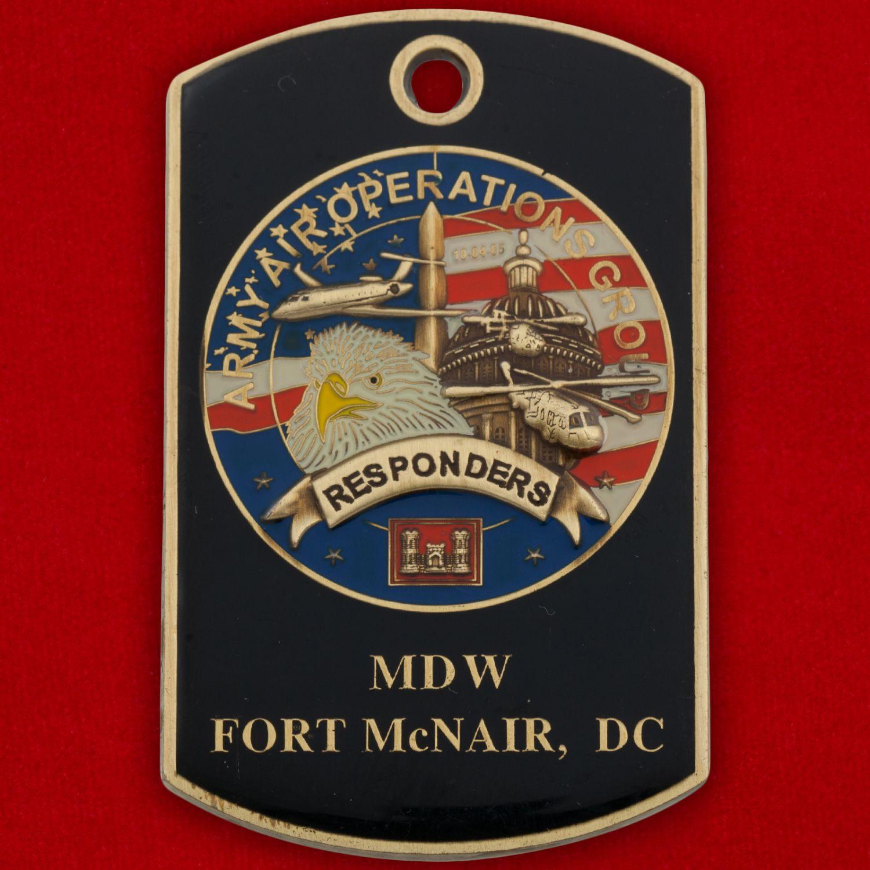 Челлендж коин Оперативной группы Армейской авиации Форта МакНейр
