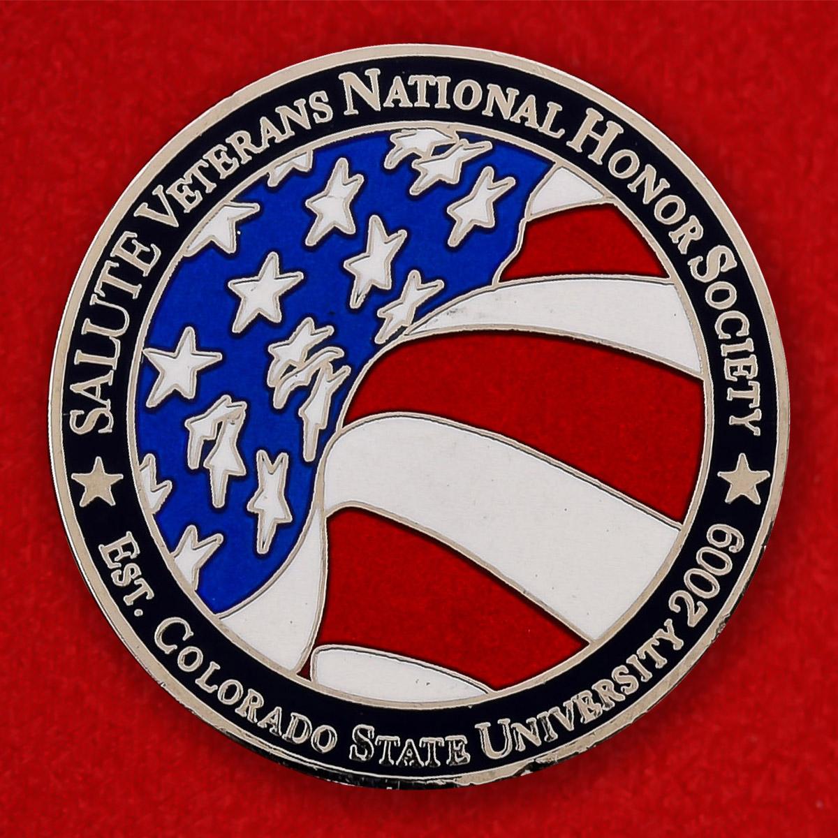 Челлендж коин организации военных ветеранов Университета штата Колорадо