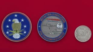 Челлендж коин от командира 97-й учебной эскадрильи ВВС США