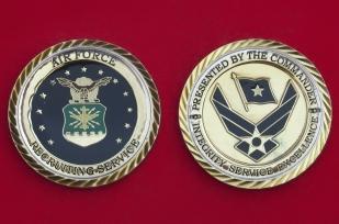 Челлендж коин от начальника вербовочной службы ВВС США