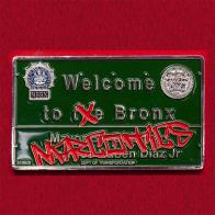 Челлендж коин отдела по борьбе с распространением наркотиков в Бронксе, Нью-Йорк
