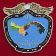 Челлендж коин отдела по вопросам военного сотрудничества при посольстве США в Панаме