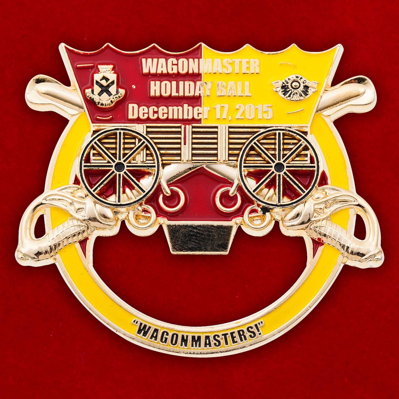 """Челлендж коин-открывалка """"1-ый кавалерийский дивизион 15-й бригады технического обслуживания"""""""