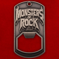 "Челлендж коин-открывалка ""Фестиваль Monsters of Rock"""