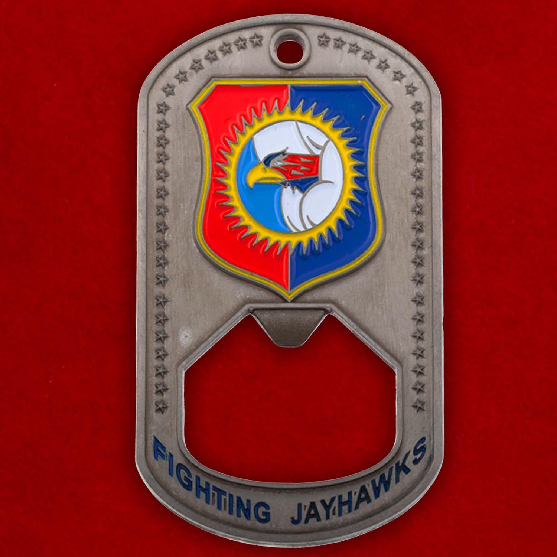 Челлендж коин-открывашка 184-го разведывательного крыла ВВС Нацгвардии США