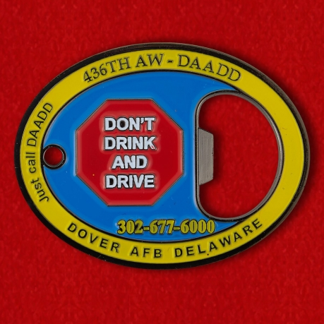 "Challenge Coin - opener ""436th Airlift Wing"""
