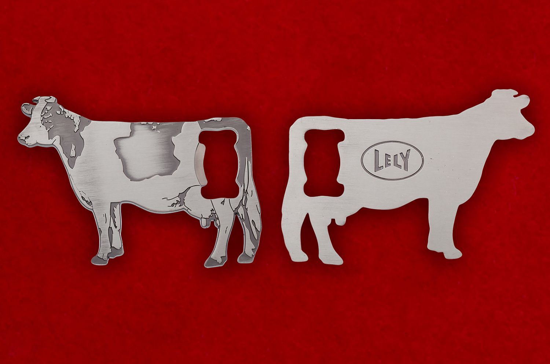Челлендж коин-открывашка фирмы Lely - обе стороны