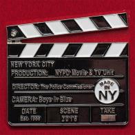 Челлендж коин отряда MTV - группы полиции Нью-Йорка по взаимодействию с киностудиями и телевидением