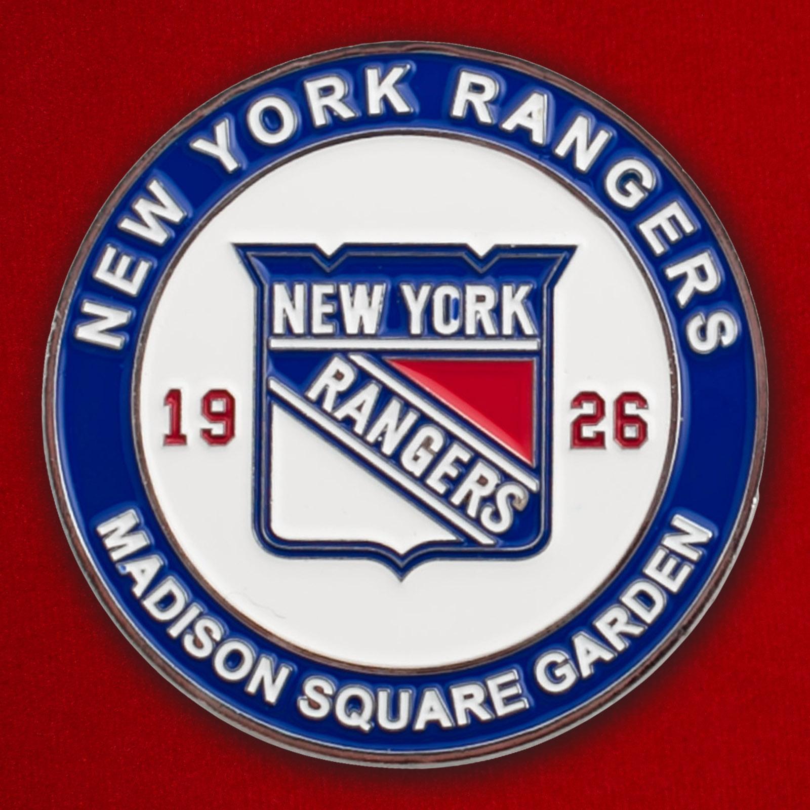 Челлендж коин отряда полиции по охране матчей клуба НХЛ New York Rangers
