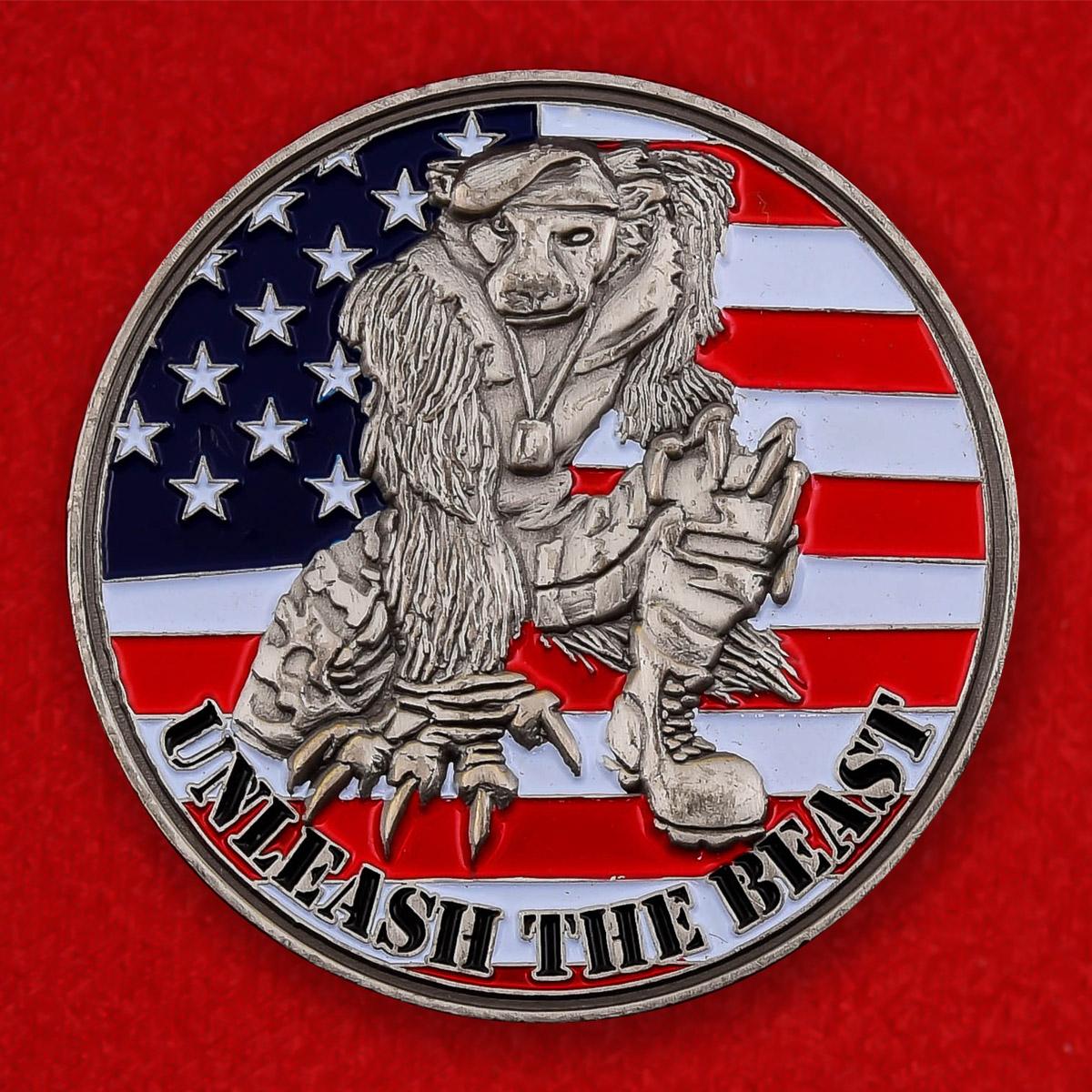 Челлендж коин подразделений Школы связи Сухопутных войск США