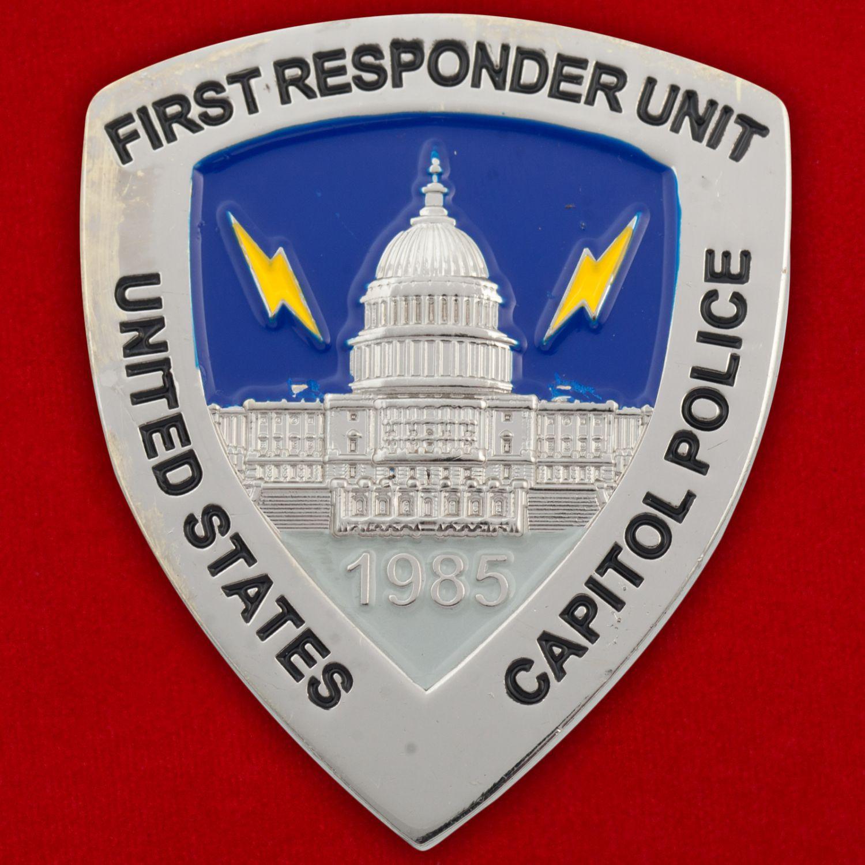 Челлендж коин подразделения полиции для охраны Конгресса США