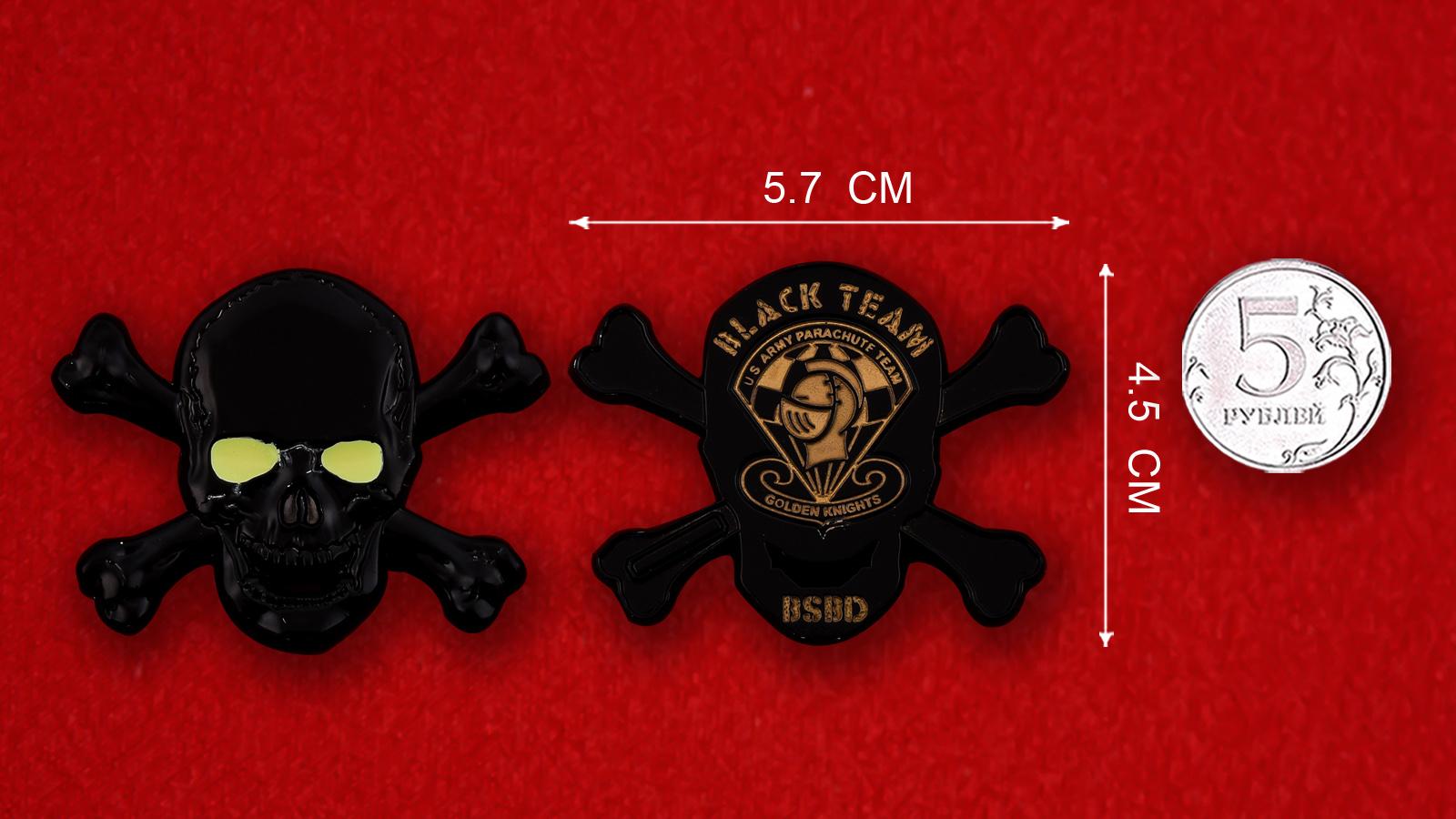 """Челлендж коин Показательной парашютной группы Армии США """"Golden Knights"""""""