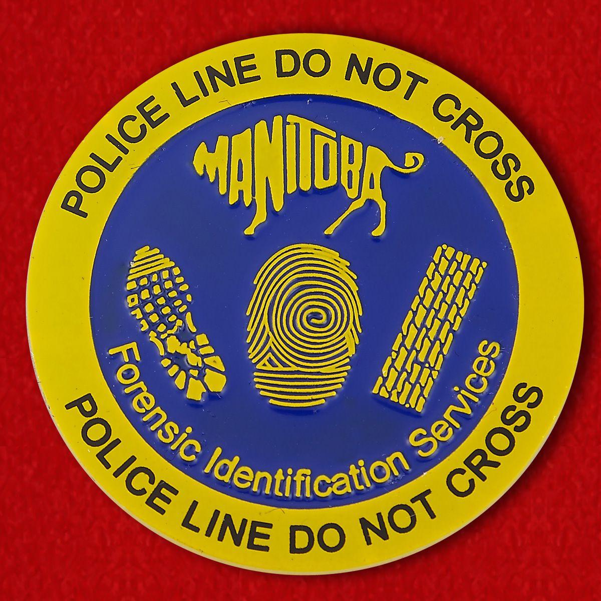 Челлендж коин полиции Манитобы