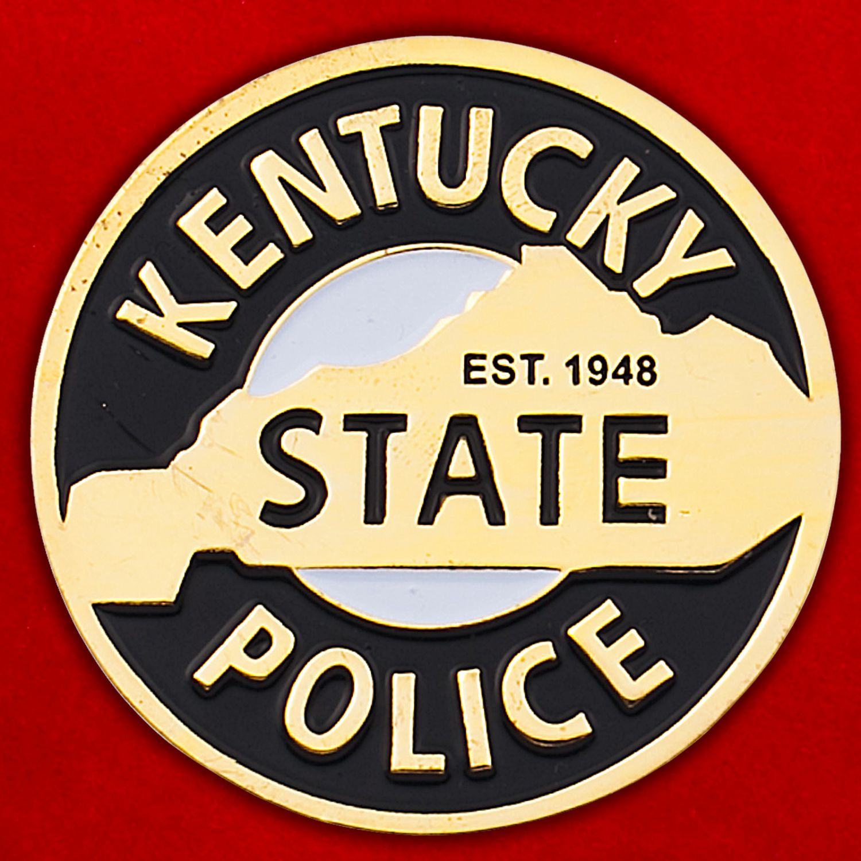 Челлендж коин полиции штата Кентукки