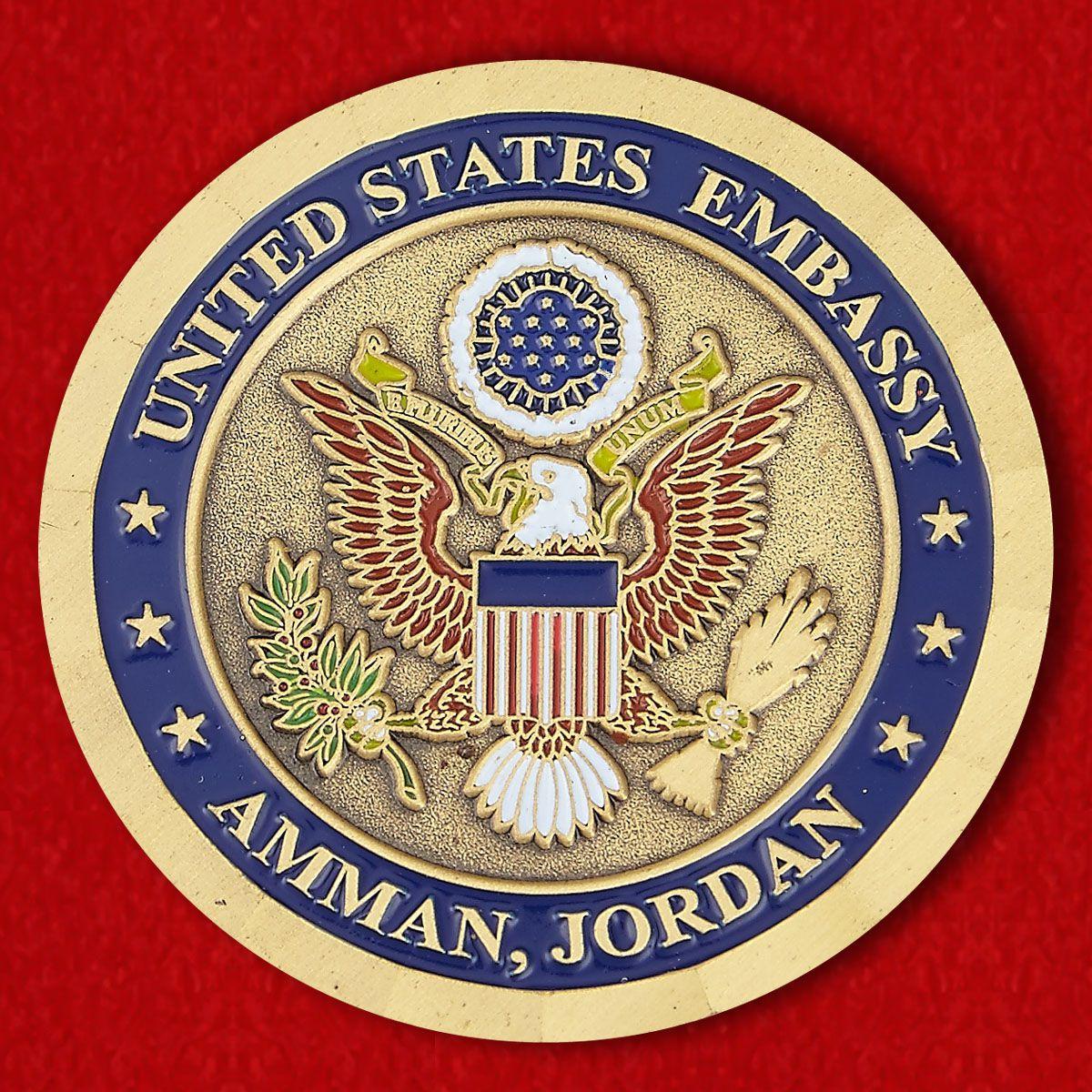 Челлендж коин Посольства США в Аммане