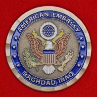 Челлендж коин посольства США в Багдаде, Ирак