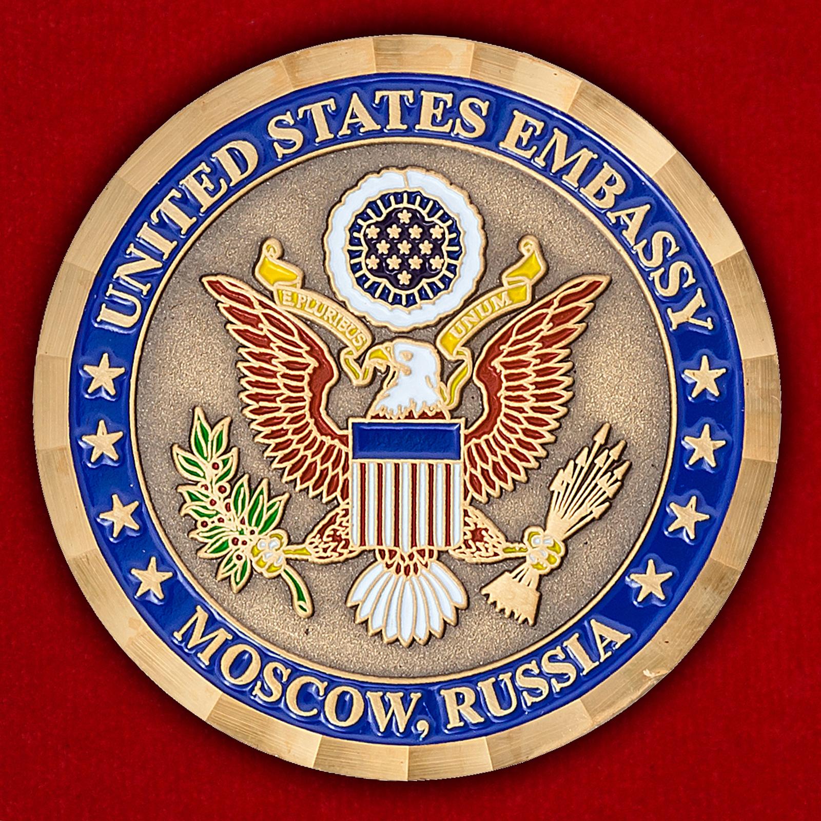 Челлендж коин Посольства США в Москве, Россия