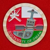 """Челлендж коин """"Посольство США в Маскате, Оман"""""""