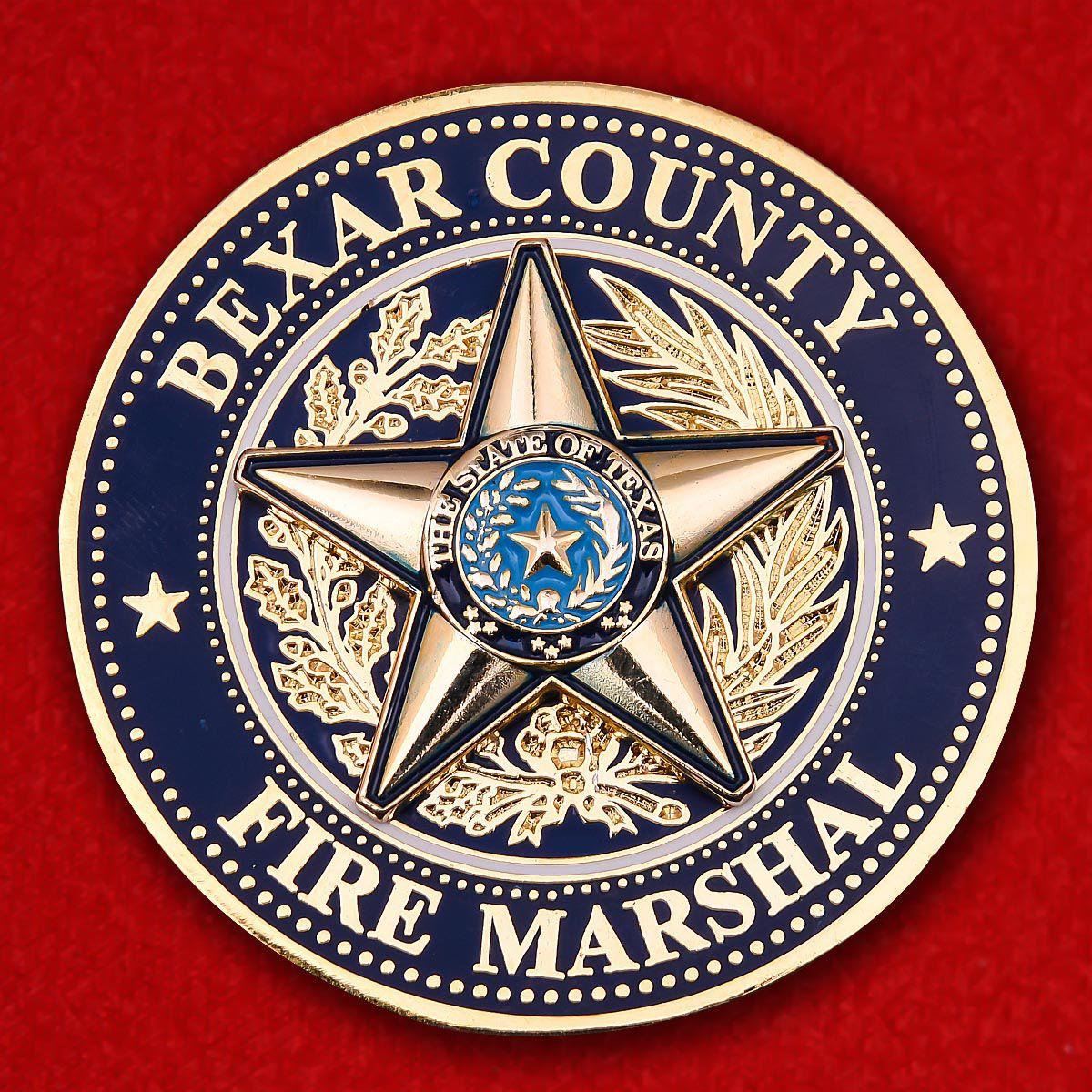 Челлендж коин Пожарной охраны округа Бехар