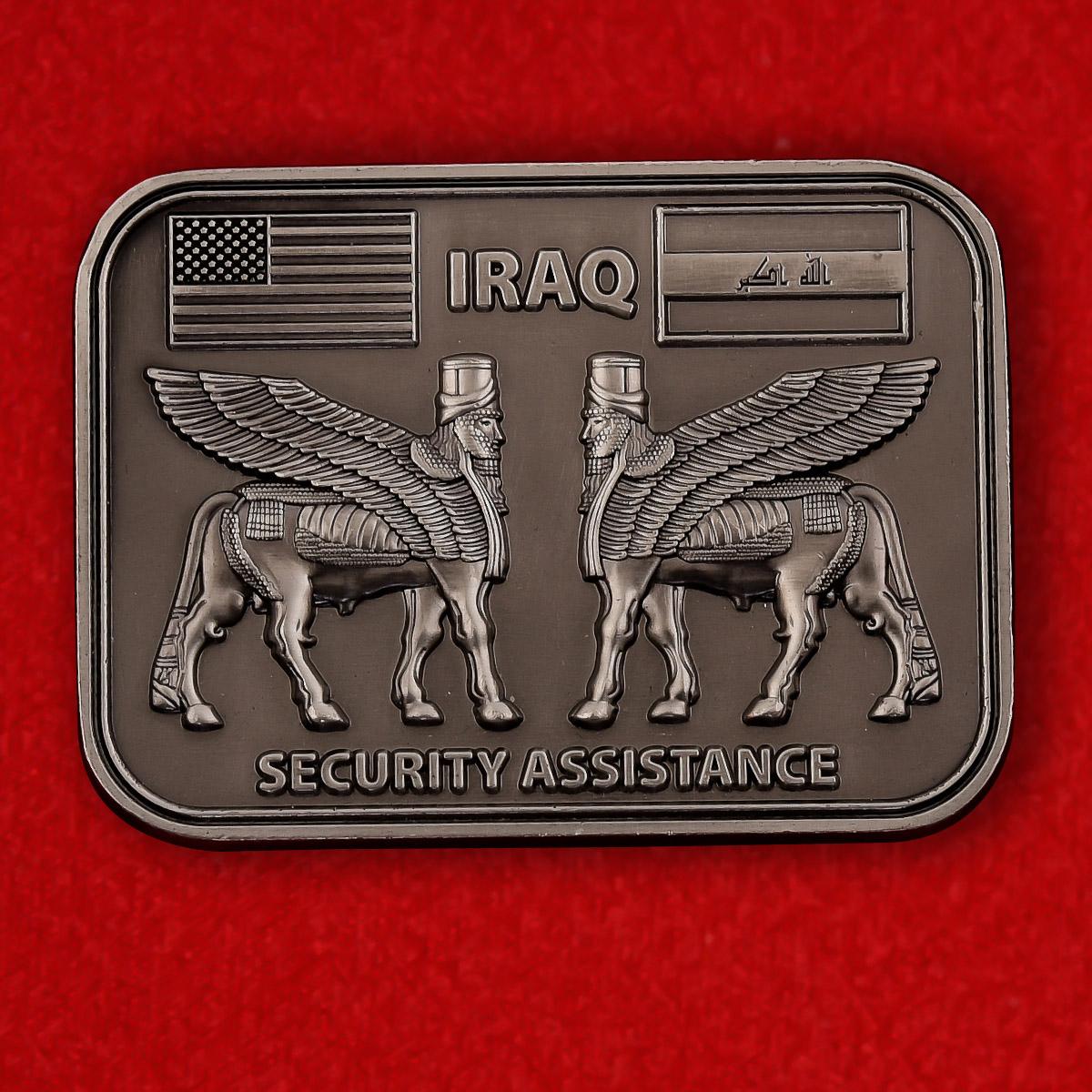 """Челлендж коин """"Представительство Госдепартамента США по обеспечению безопасности и сотрудничества в Ираке"""""""