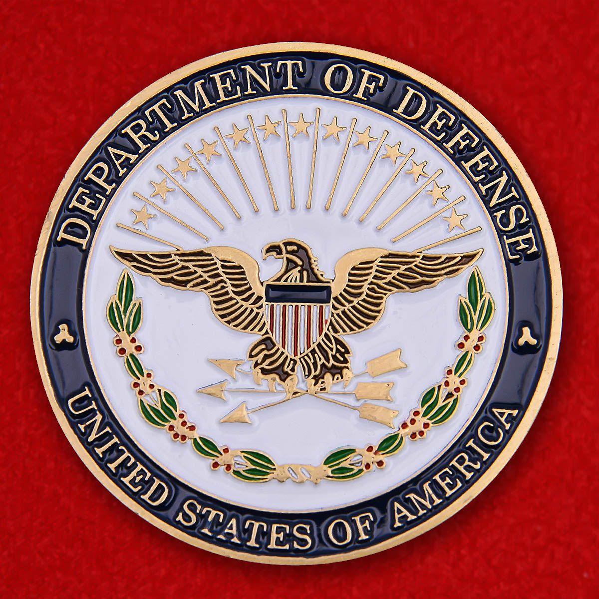 Челлендж коин секретаря Госдепартамента США Ричарда Чейни