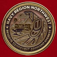 Челлендж коин Северо-Западного Командования резервов ВМС США