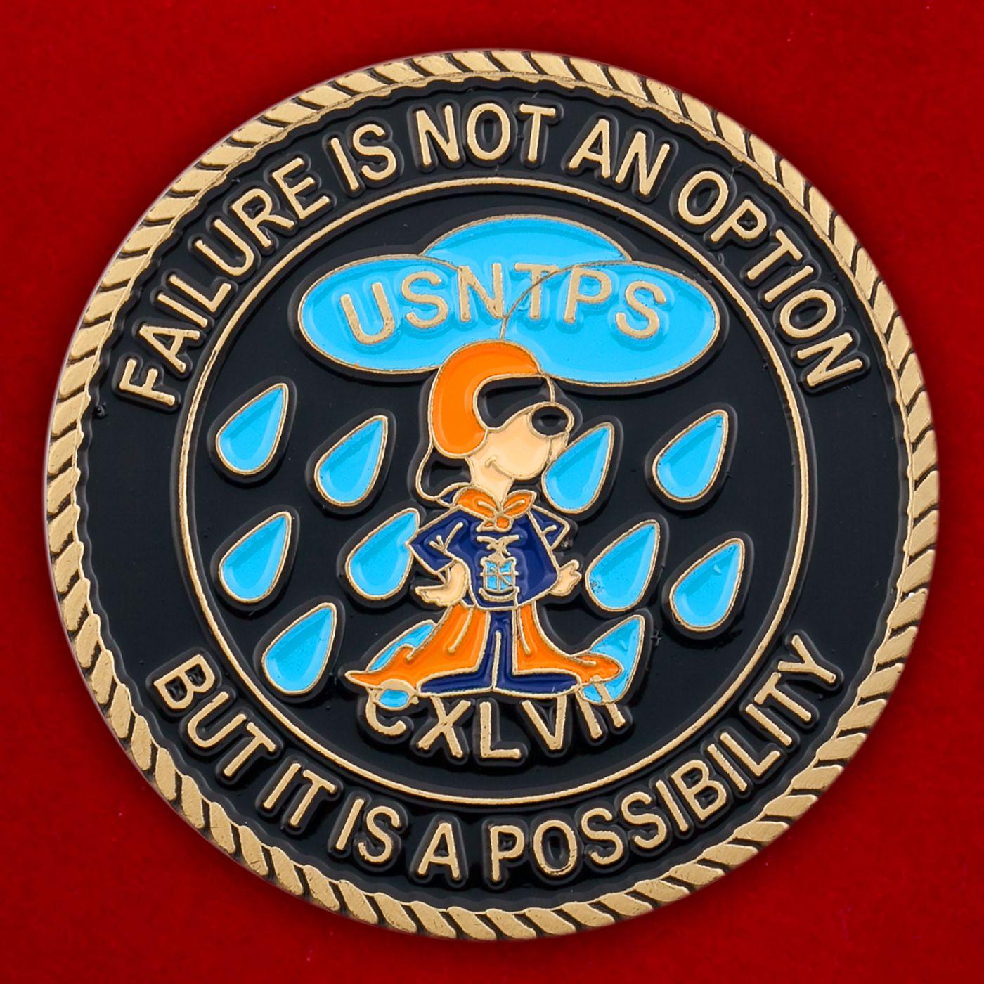 Челлендж коин школы летчиков-испытателей ВМС США