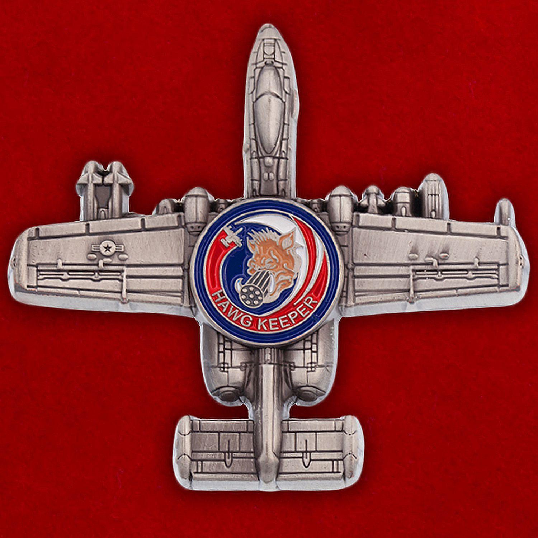 "Челлендж коин ""Штурмовик ВВС США Fairchild Republic A-10 Thunderbolt II"""