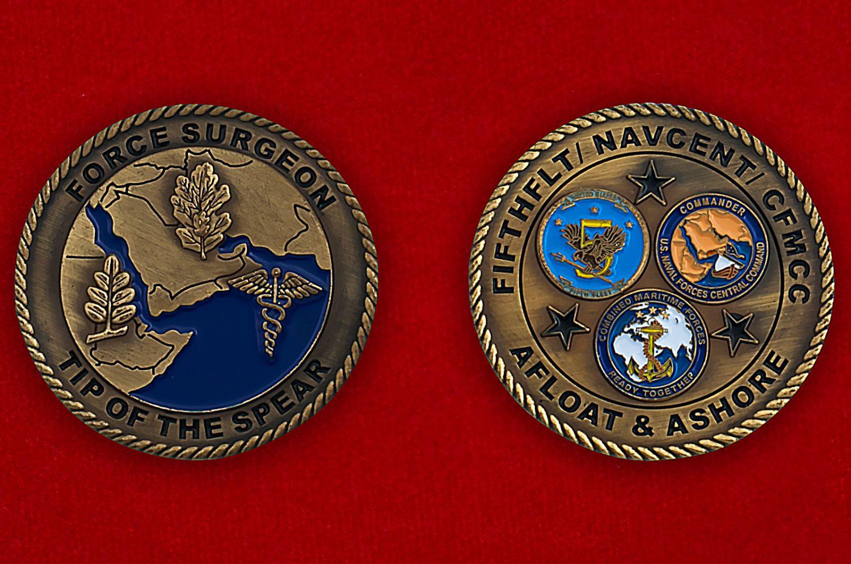 Челлендж коин Сил специальных операций США - аверс и реверс