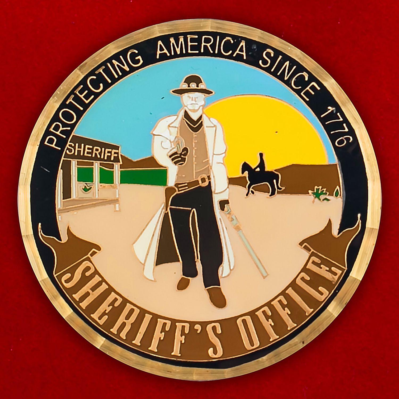 Челлендж коин Службы шерифов США