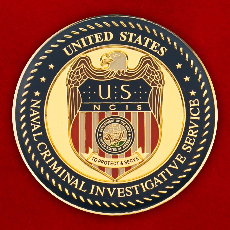 Челлендж коин Службы уголовного розыска ВМС США