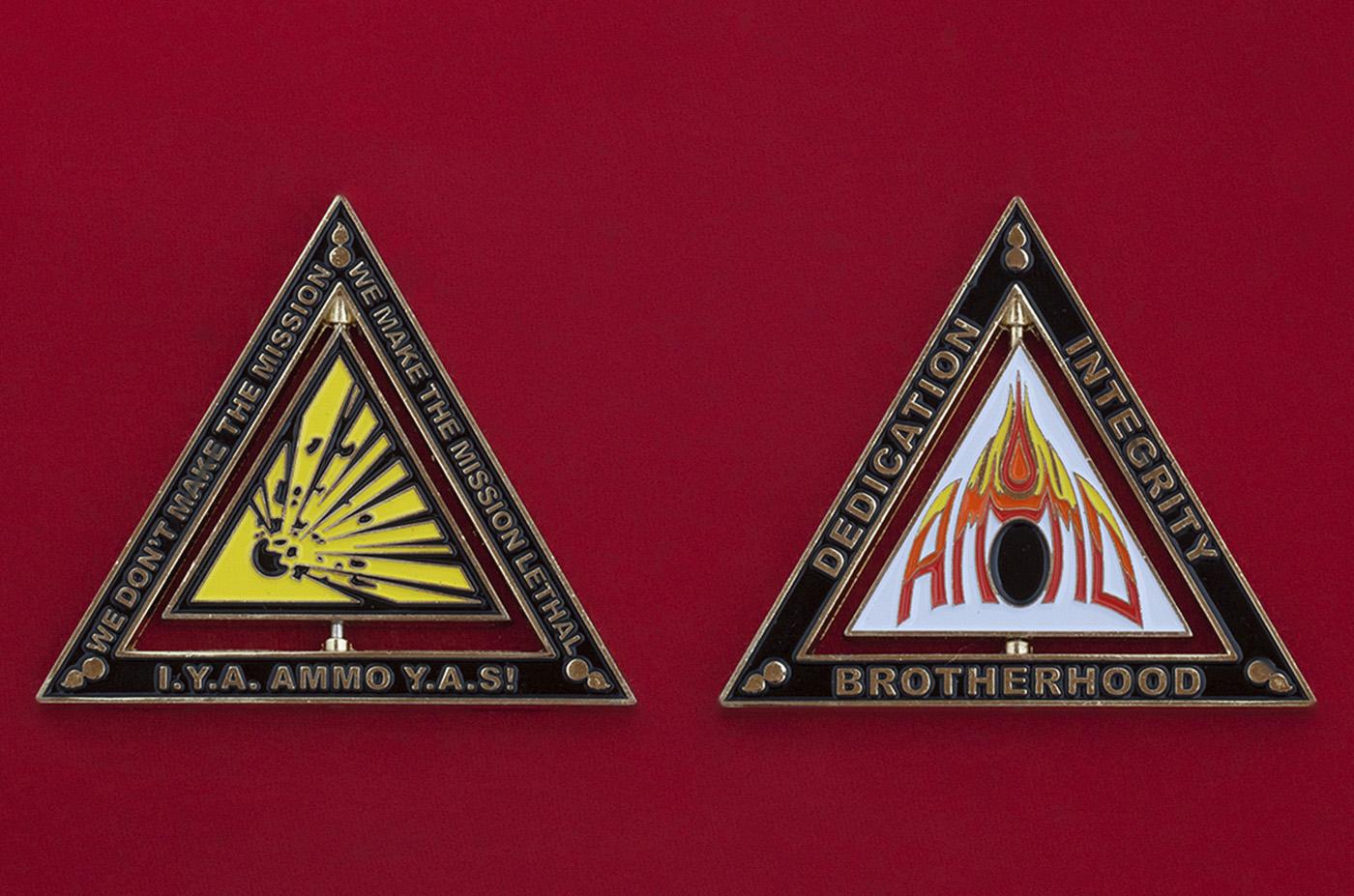 Челлендж коин сообщества специалистов по ракетно-артиллерийскому вооружения ВС США