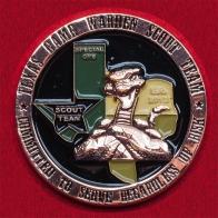 Челлендж коин сотрудников группы специальных операций Службы спасения на воде и природоохраны Техаса