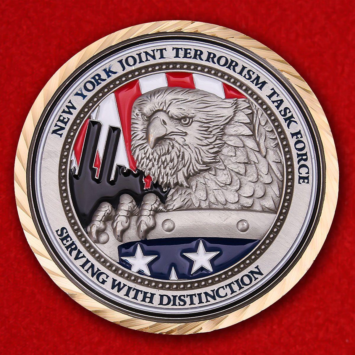 Челлендж коин совместной тактической контртеррористической группы Нью-Йорка