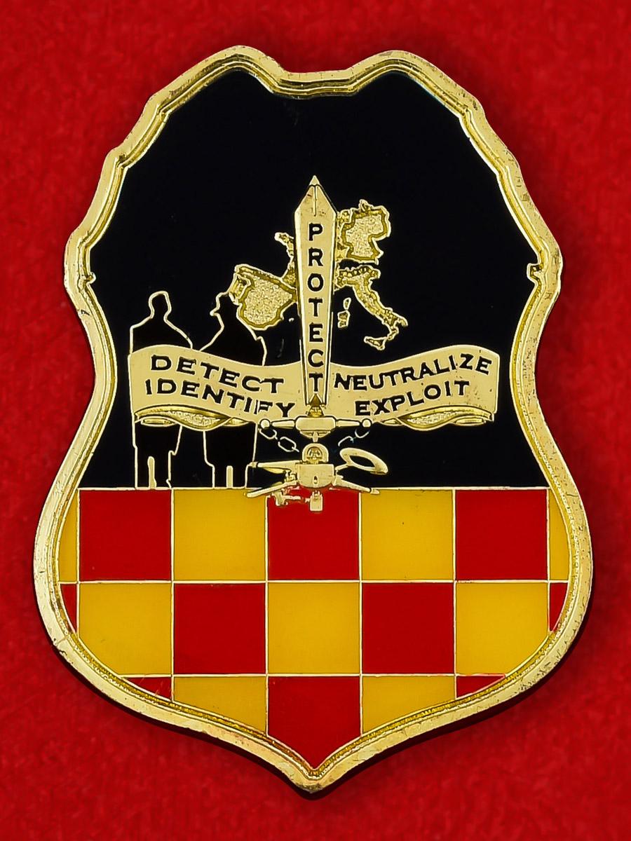 "Челлендж коин ""Спецагент контрразведки Армии США"""