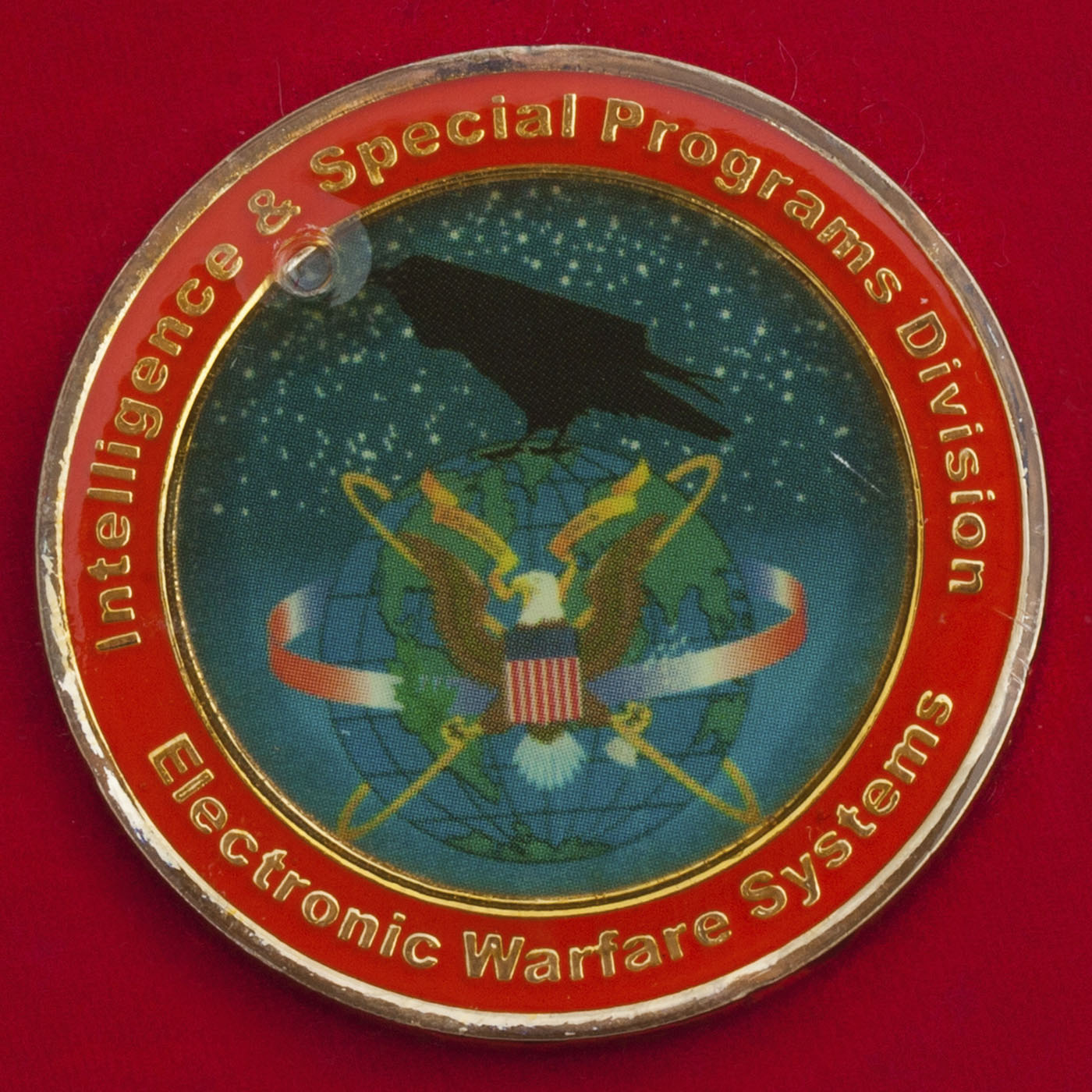 Челлендж коин специалистов комплексов РЭБ подразделения разведки и специальных программ Министерства обороны США