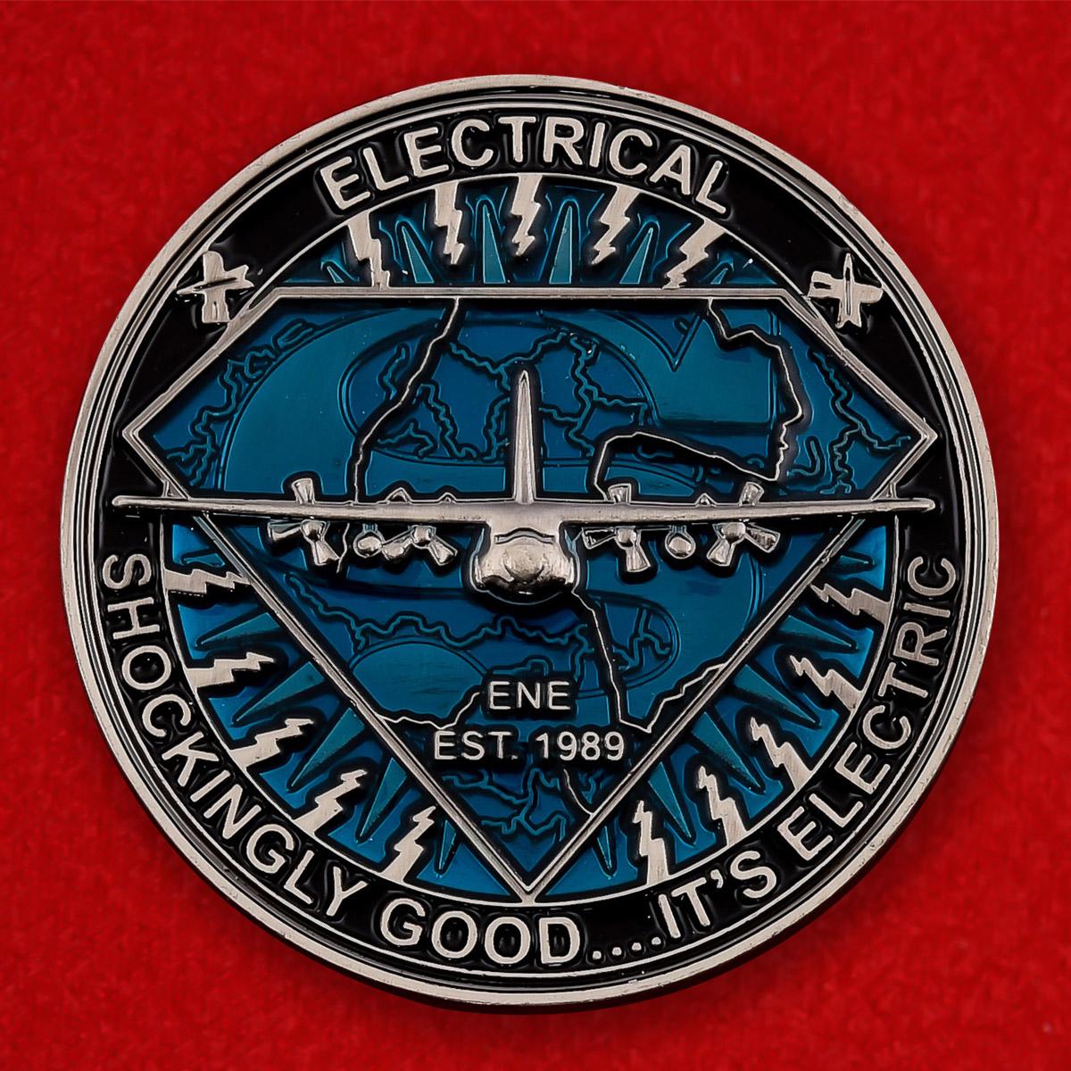 Челлендж коин специалистов ВВС США по изучению электромагнитной среды