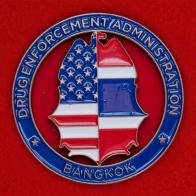 Челлендж коин специального агента DEA в Бангкоке, Таиланд