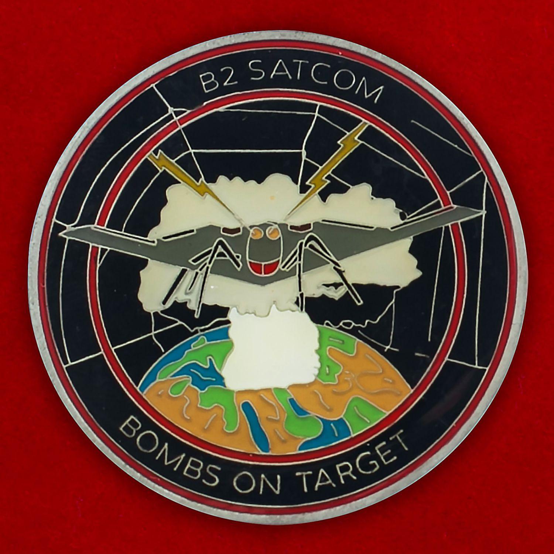 Челлендж коин спутников наведения бомбардировщиков ВВС США