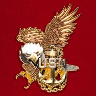 Челлендж коин старшин эскадры сторожевых кораблей VP-16 War Eagles ВМС США